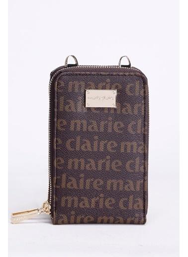 Marie Claire Clutch / El Çantası Kahve